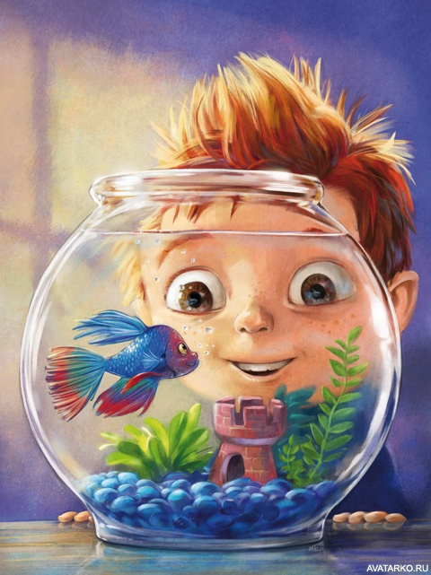 Картинка с рыбами