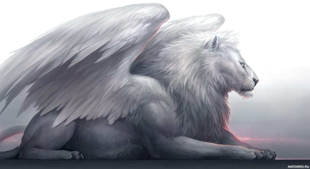 картинки львов с крыльями подобные гарнитуры волгограде