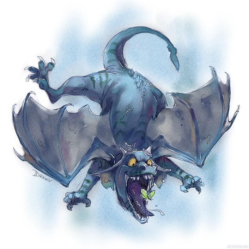 Прикольные рисунки драконы