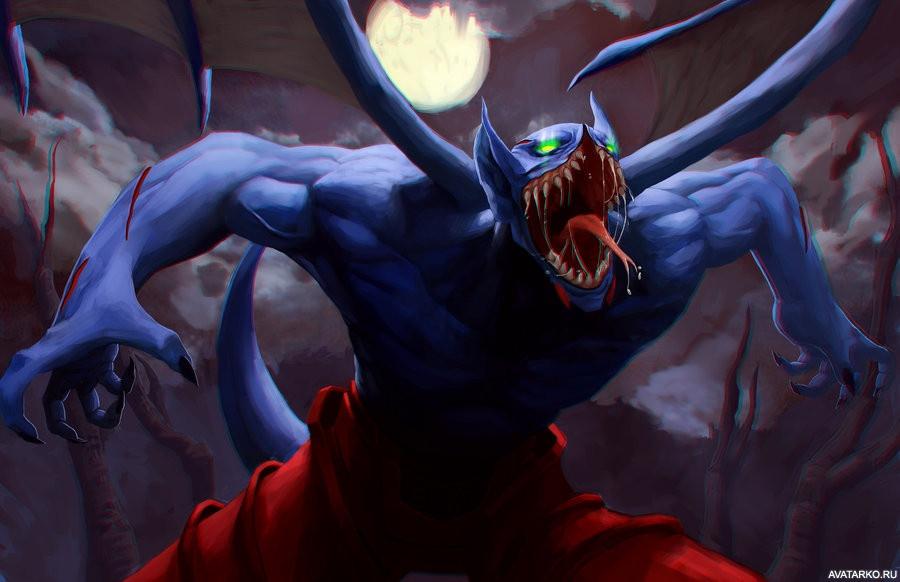 больше переменные герои доты с вампиризмом отличие