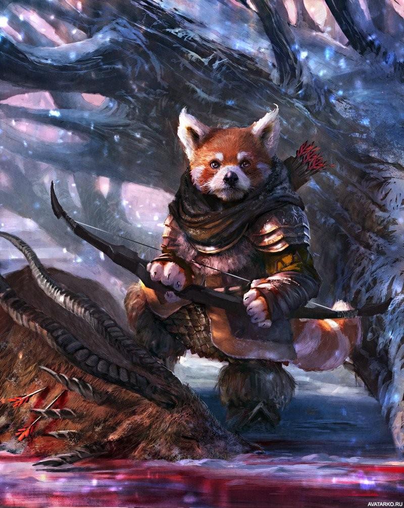 этой картинка лиса воин трио краснодаре