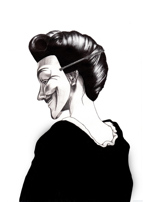 Картинка девушка аноним