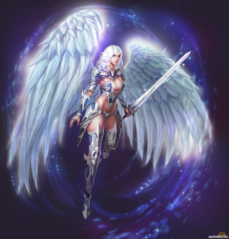 Ангелы воители картинки