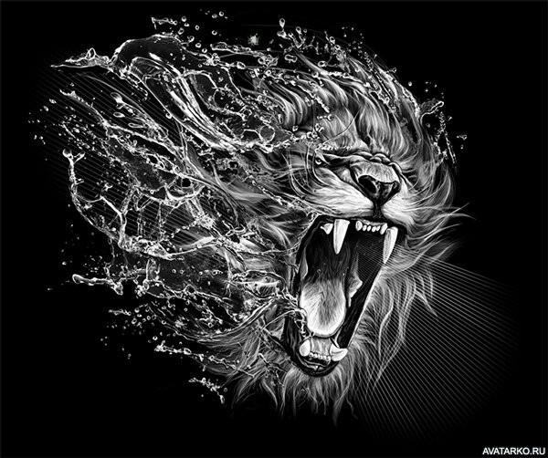 картинки льва на аву