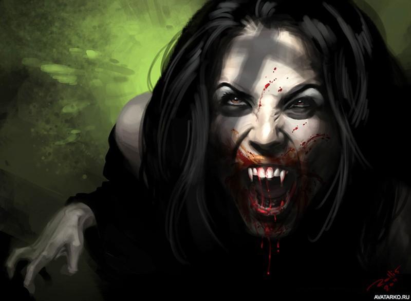 Вампиры картинки на аву девушка