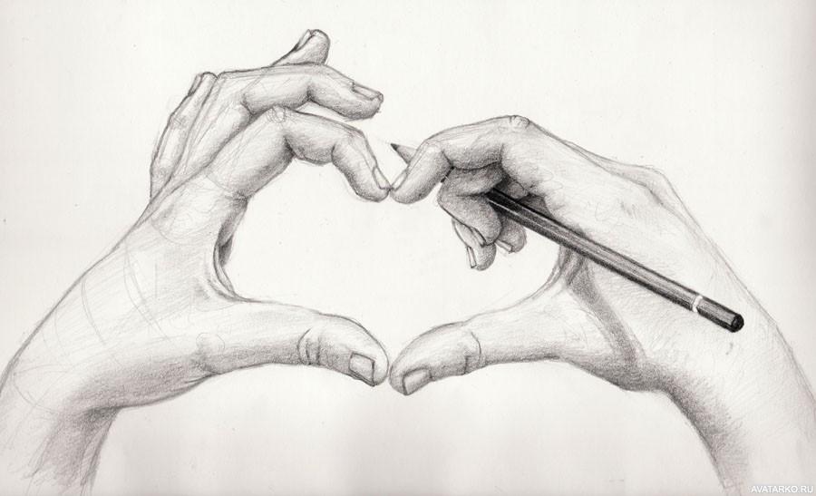 Рисунки от руки