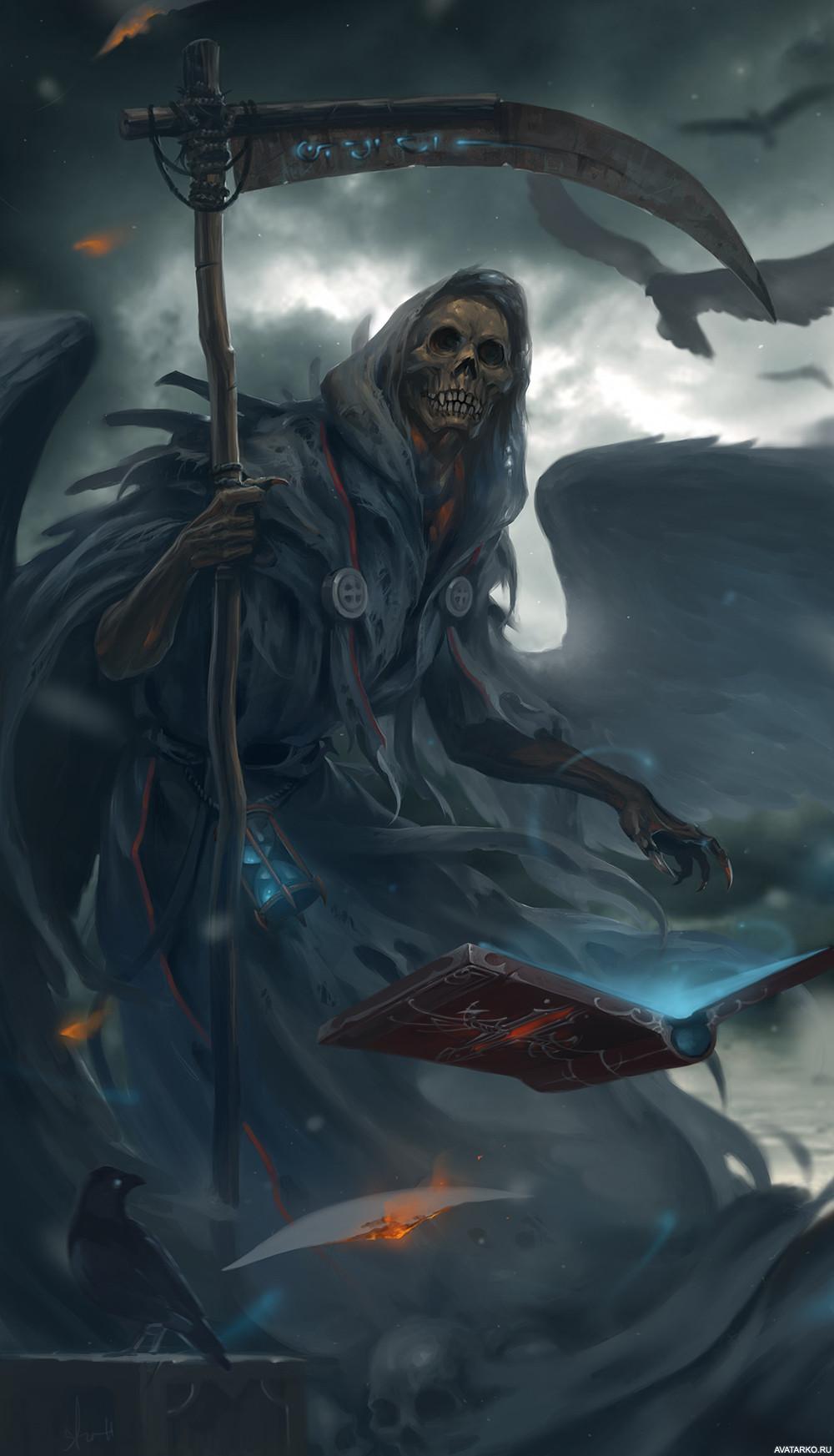 картинки на аватарку смерти
