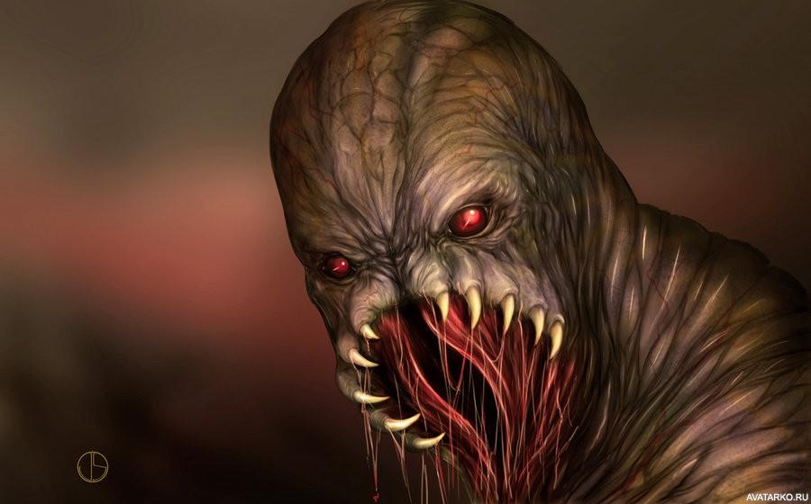 Смотреть самые страшные монстры картинки
