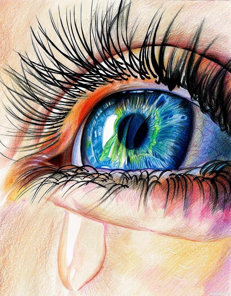 кажущуюся рисуем глаза с картинками самые интересные