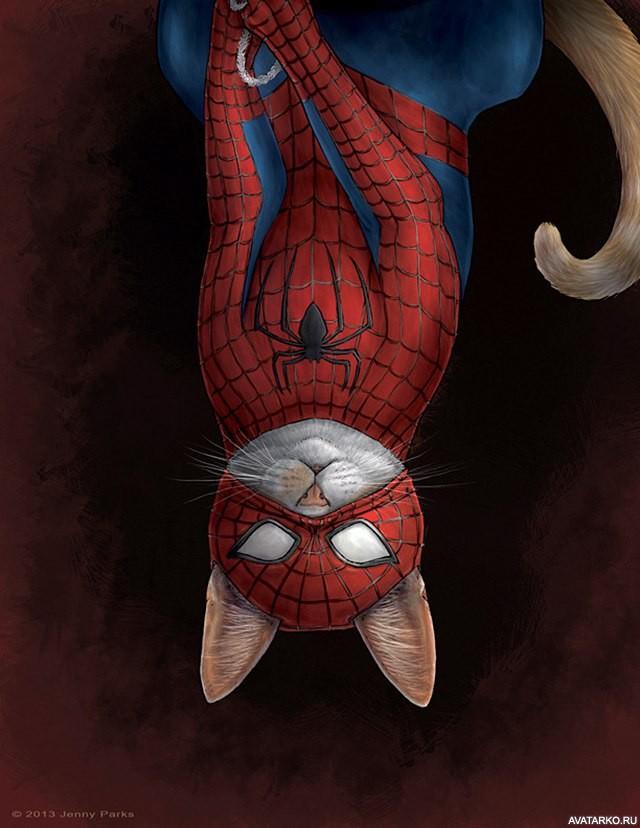 Девочке, прикольные рисунки человека паука